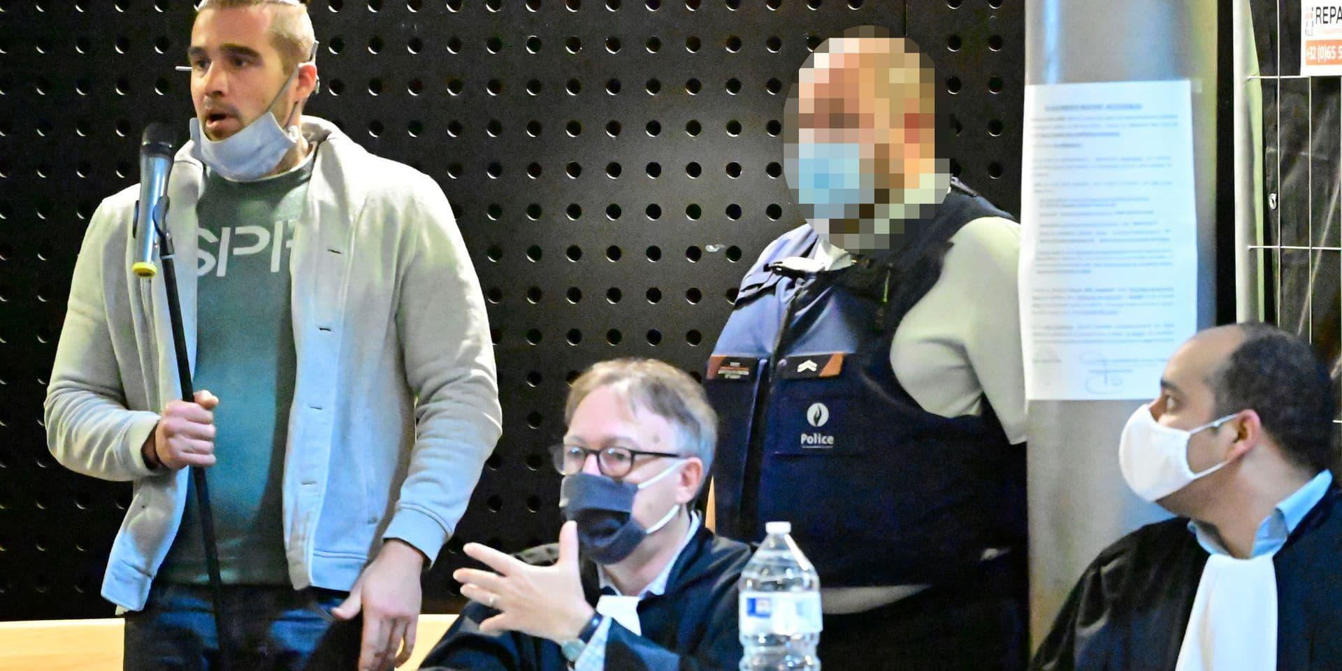 Alexandro Carucci reconnu coupable de coups et du meurtre de Muriel Bauduin