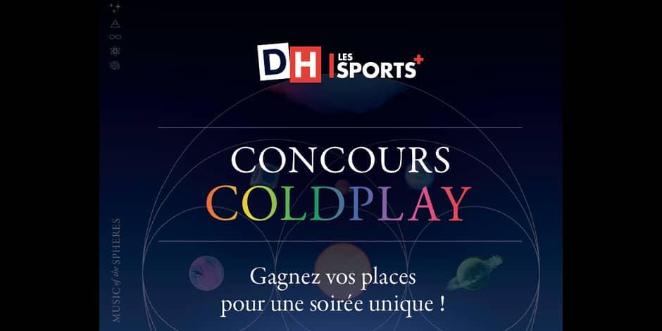 Concours: gagnez vos places pour la soirée découverte du nouvel album de Coldplay