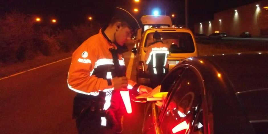 Dix automobilistes privés de permis après une opération de contrôles de police à Comines-Warneton