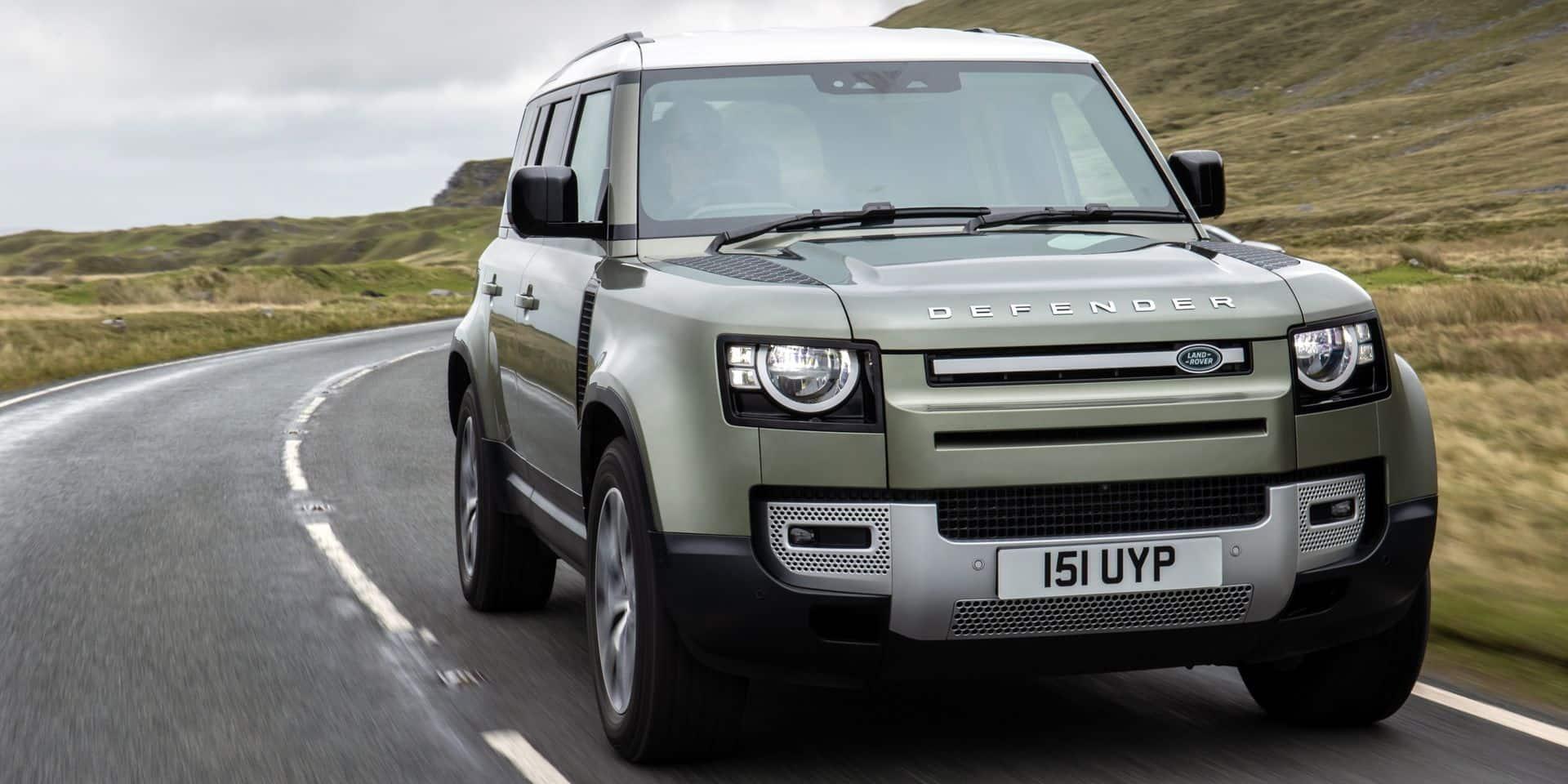 Land Rover prépare un Defender à hydrogène