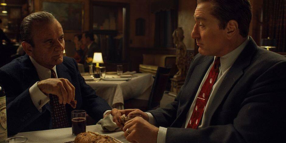 """""""The Irishman"""": Scorsese signe un film de vieux, avec Robert De Niro, Joe Pesci et Al Pacino"""