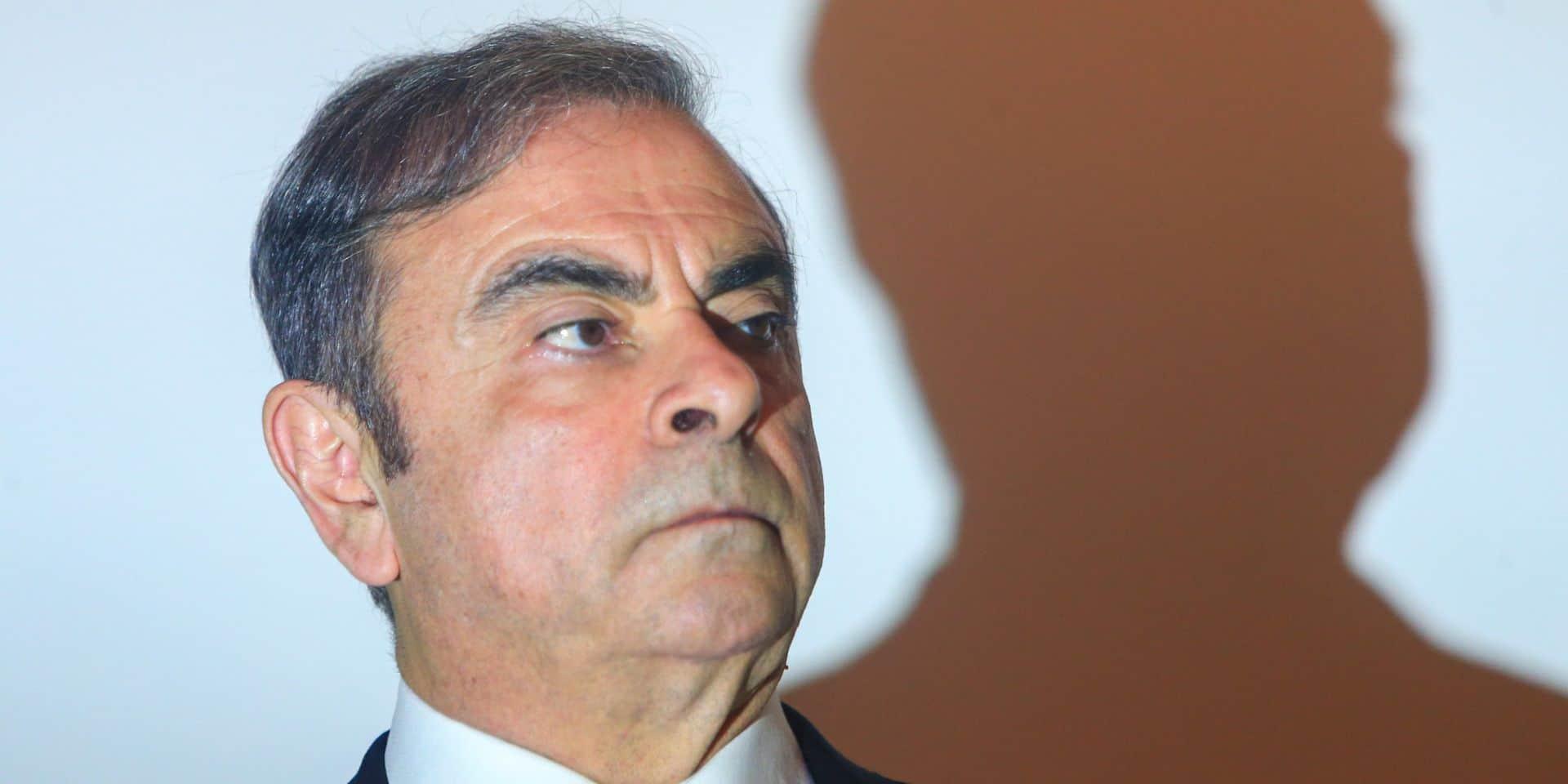 Interpol ajoute Ghosn à la liste des personnes les plus recherchées... mais ne trouve pas de photo
