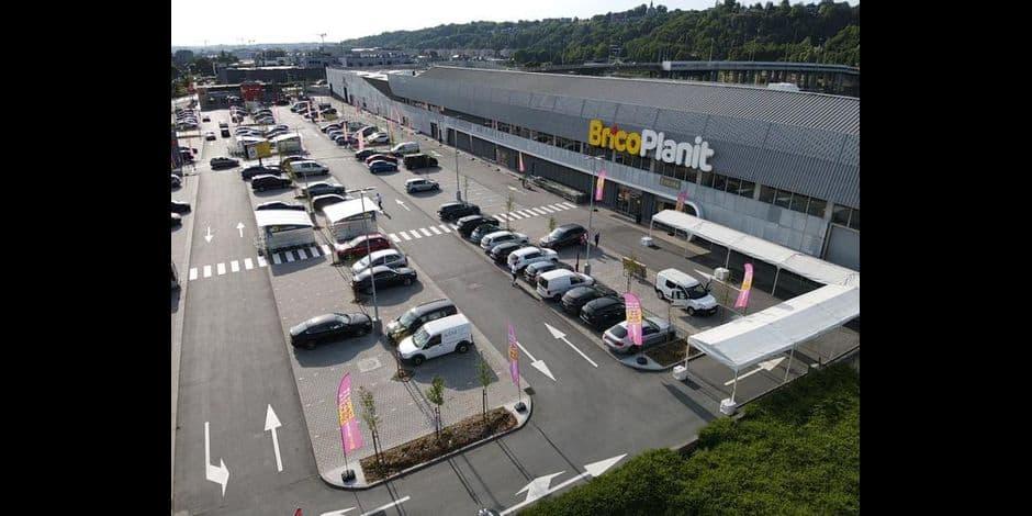 Namur : BricoPlanit entièrement rénové à Jambes