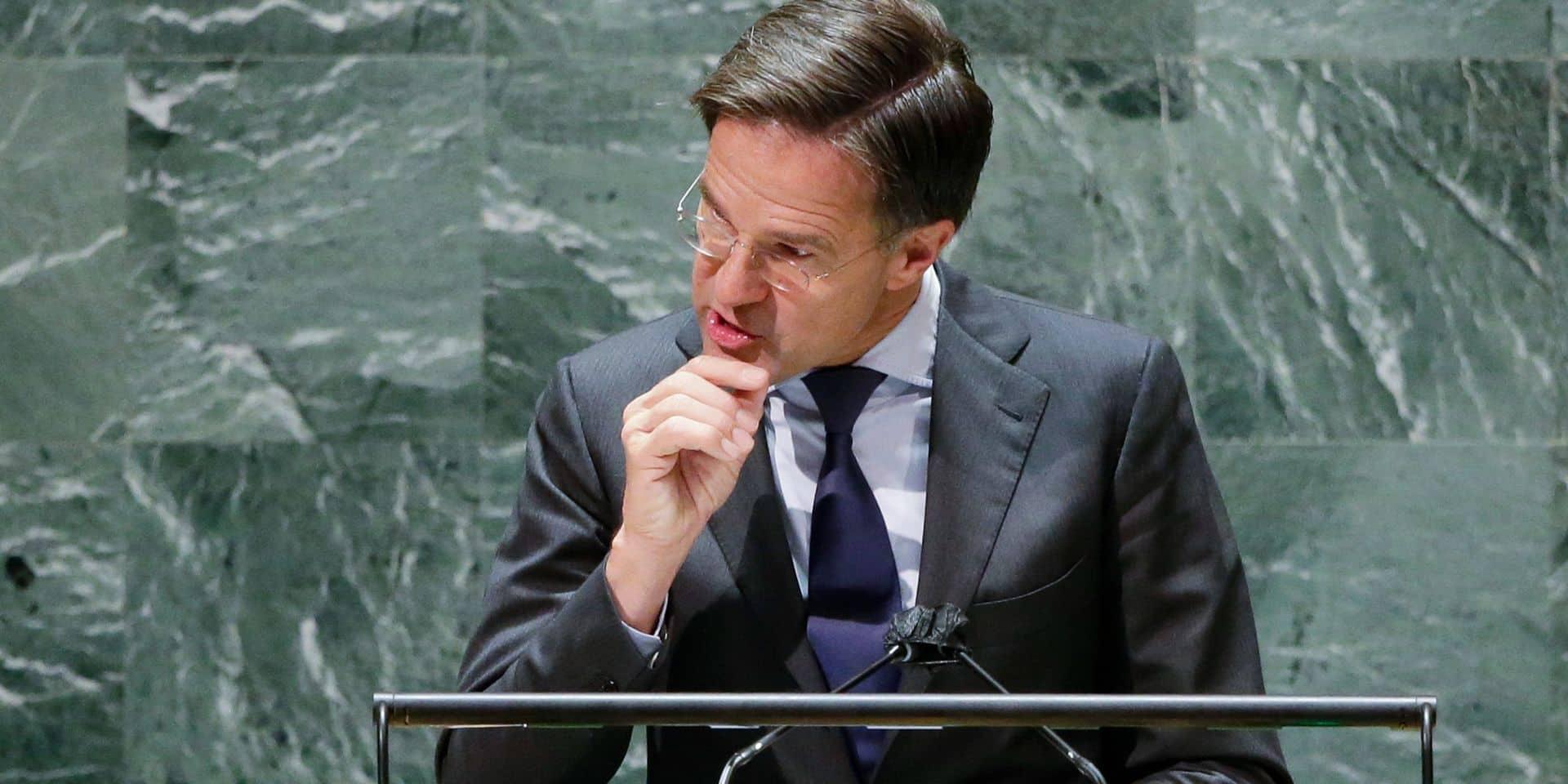 Les Pays-Bas s'approchent d'un accord de gouvernement, sous Mark Rutte