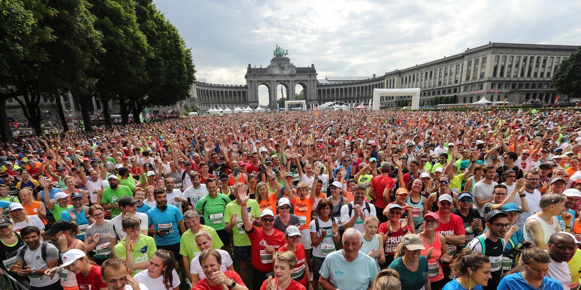 Bernard Demoulin: Les 20 Km de Bruxelles 2018