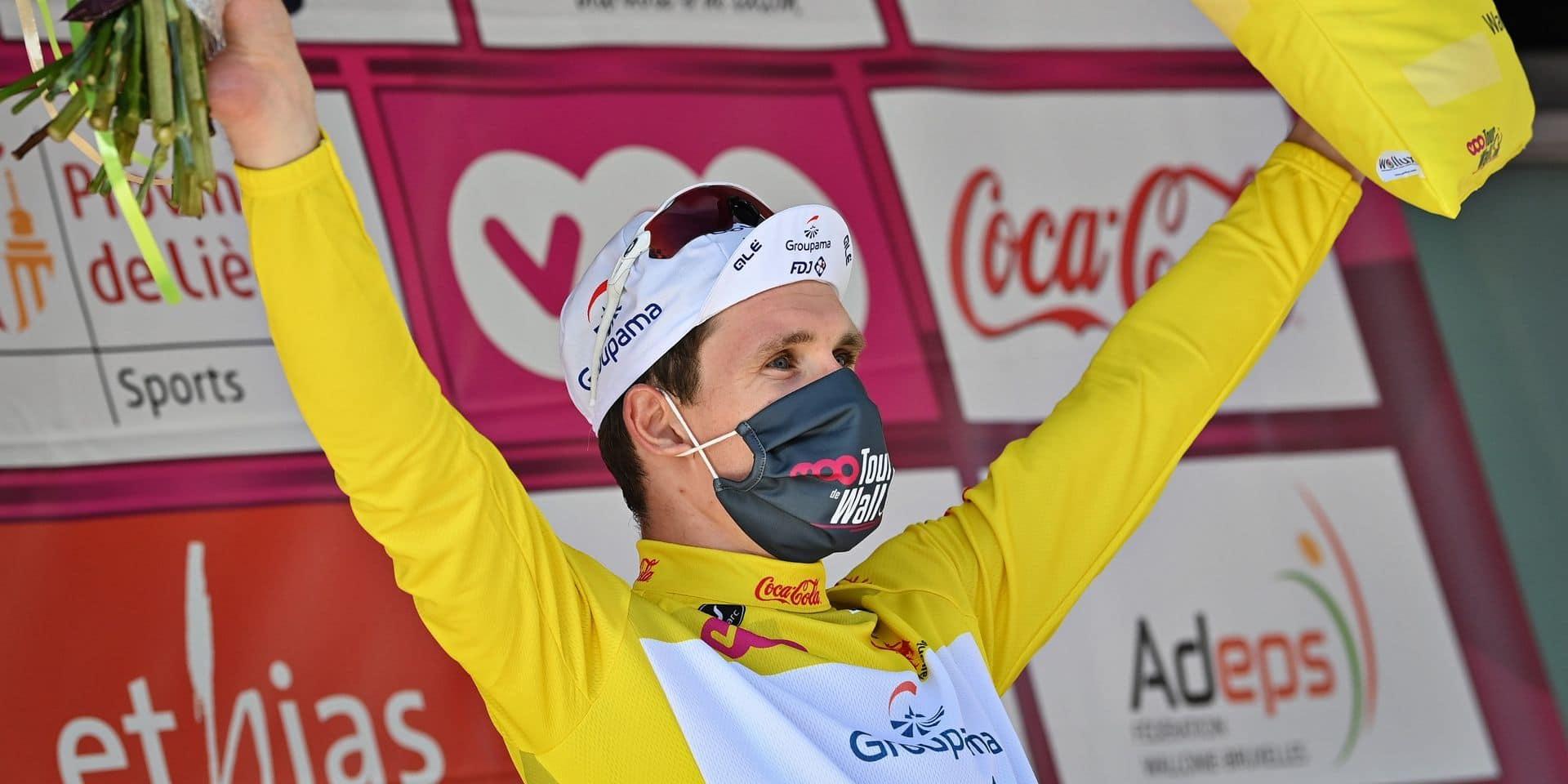 Tour de Wallonie: Arnaud Démare (Groupama-FDJ) s'offre la dernière étape et le classement général