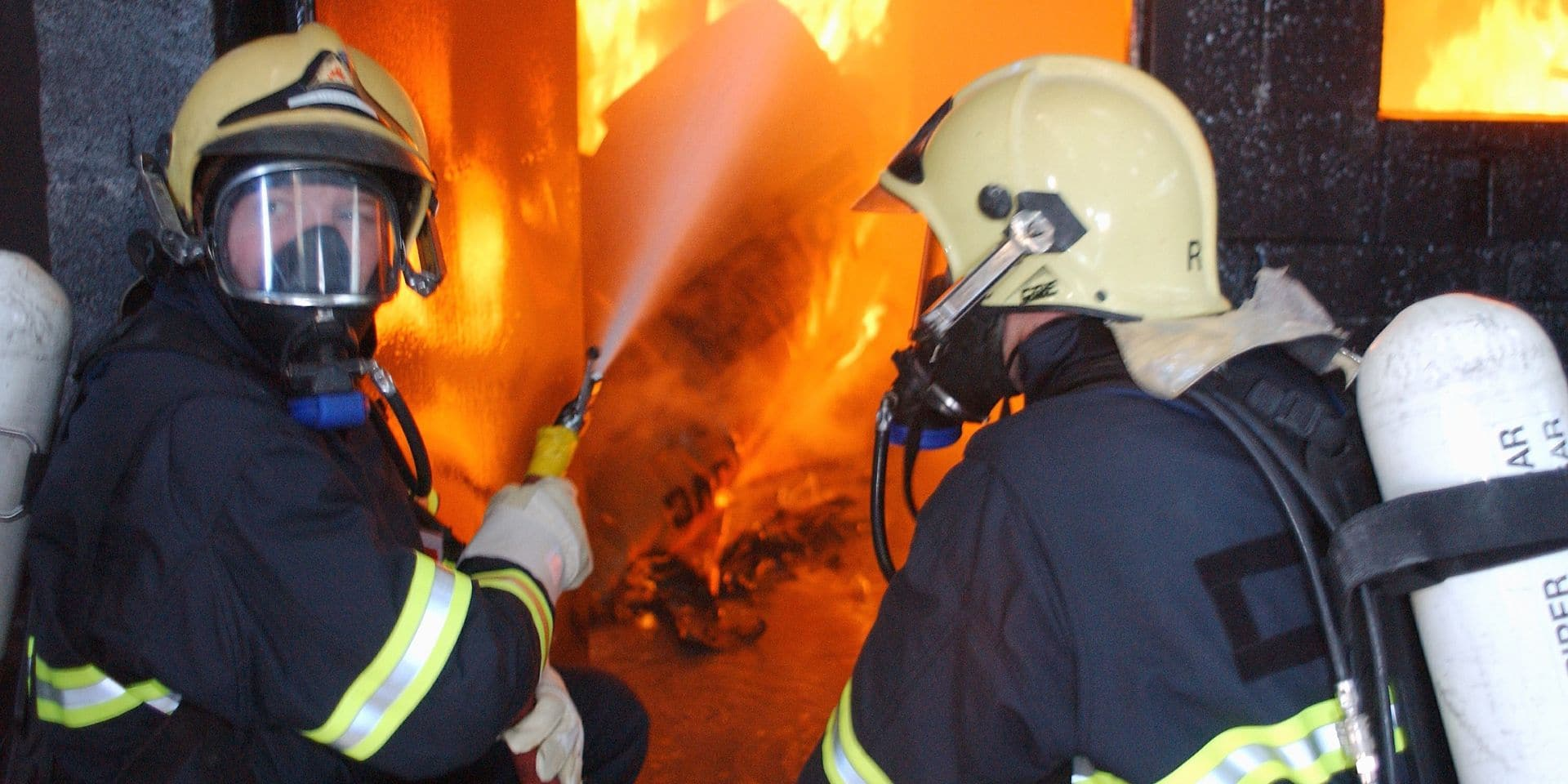 Incendie à Seraing: aucune victime n'est à déplorer, une cigarette à l'origine du sinistre