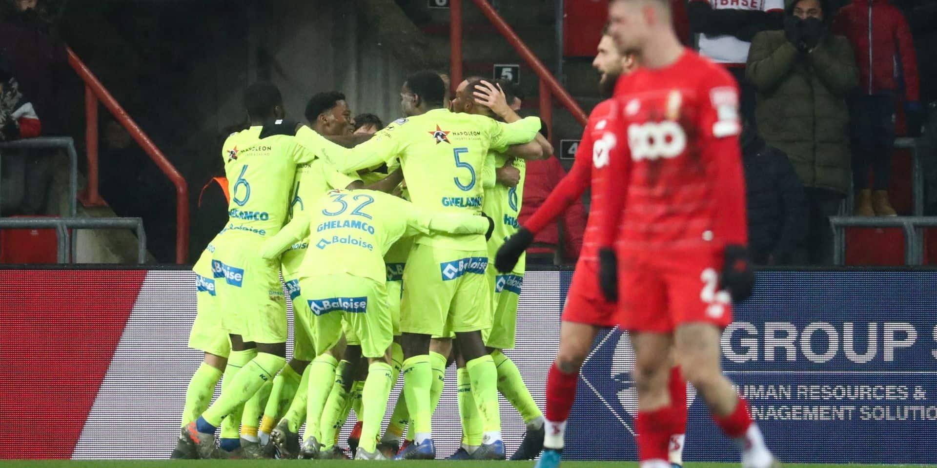 Le Standard s'incline contre La Gantoise sur un coup de fusil de Kums (0-1)