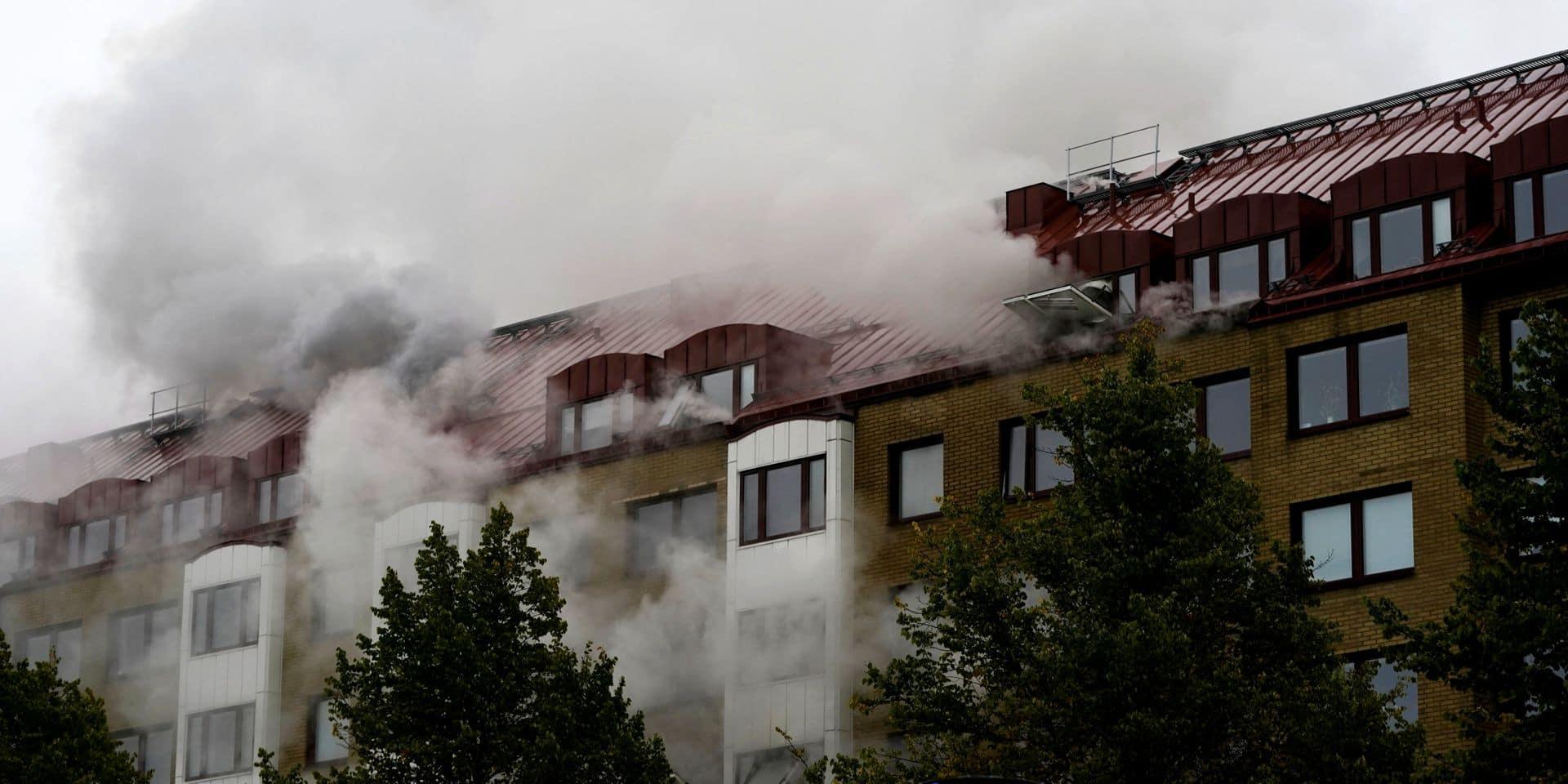 Suède: 16 blessés dans une explosion à Göteborg, la piste criminelle envisagée