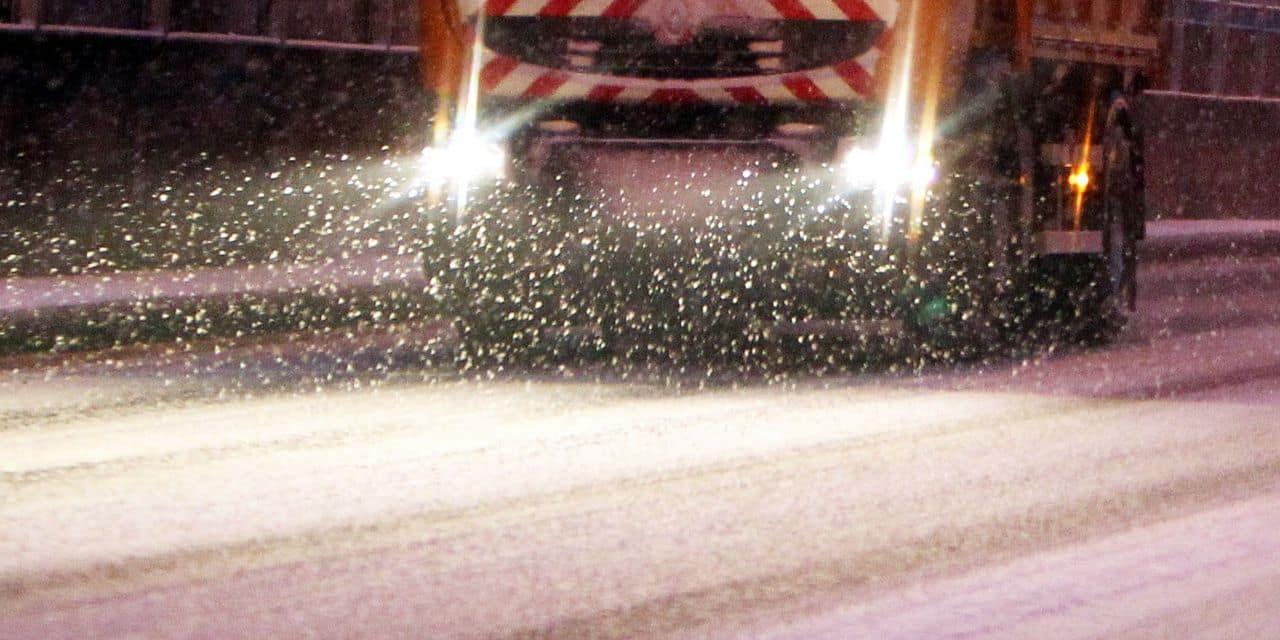"""Bernissart : """"nous avons eu deux jours de neige…"""""""