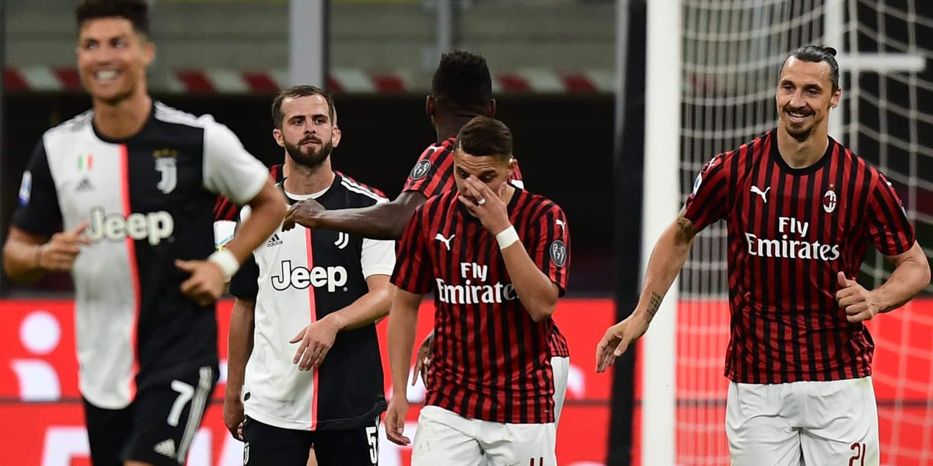 Mené 0-2, le Milan parvient à renverser la Juve dans un match totalement fou (4-2)