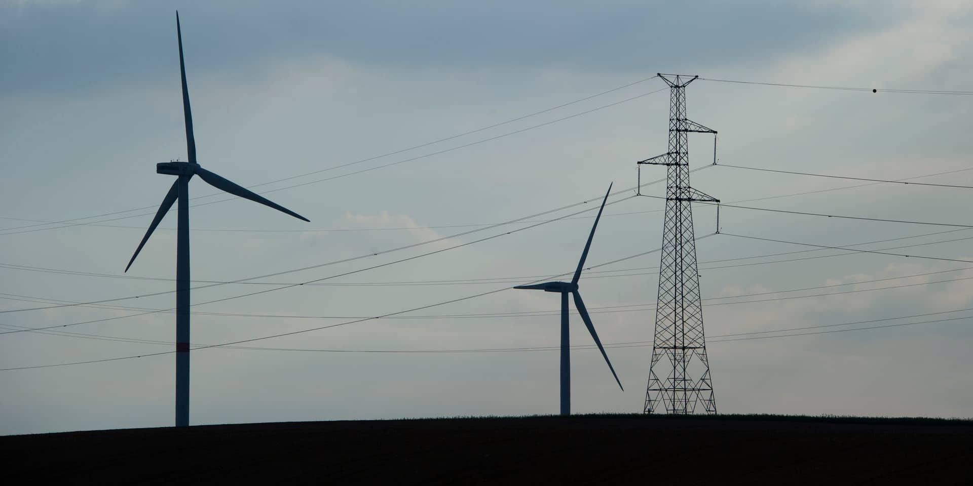 Soignies: les deux nouvelles éoliennes... à l'arrêt depuis deux mois