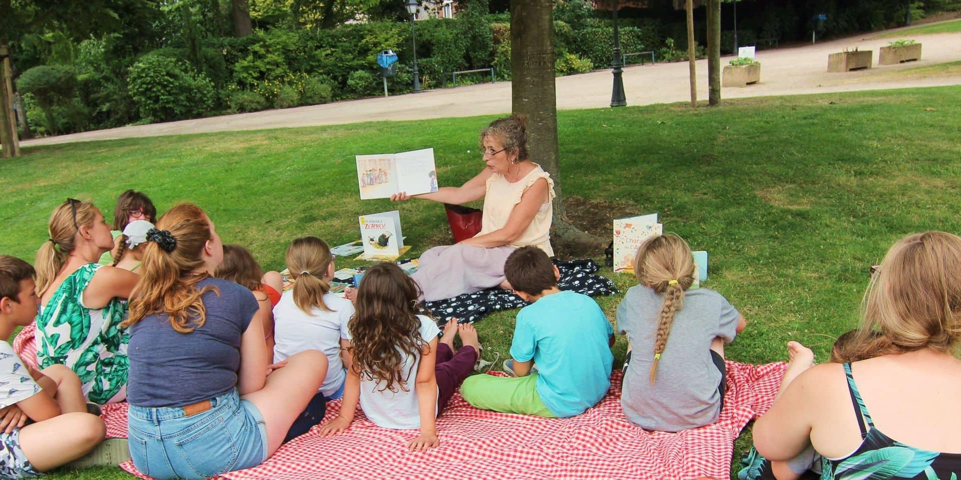 """Waremme: """"Lire dans les parcs"""", de retour cet été !"""
