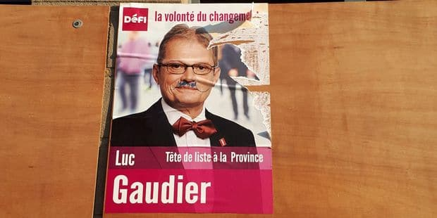 Elections dans le Centre: Haro sur les affiches - La DH