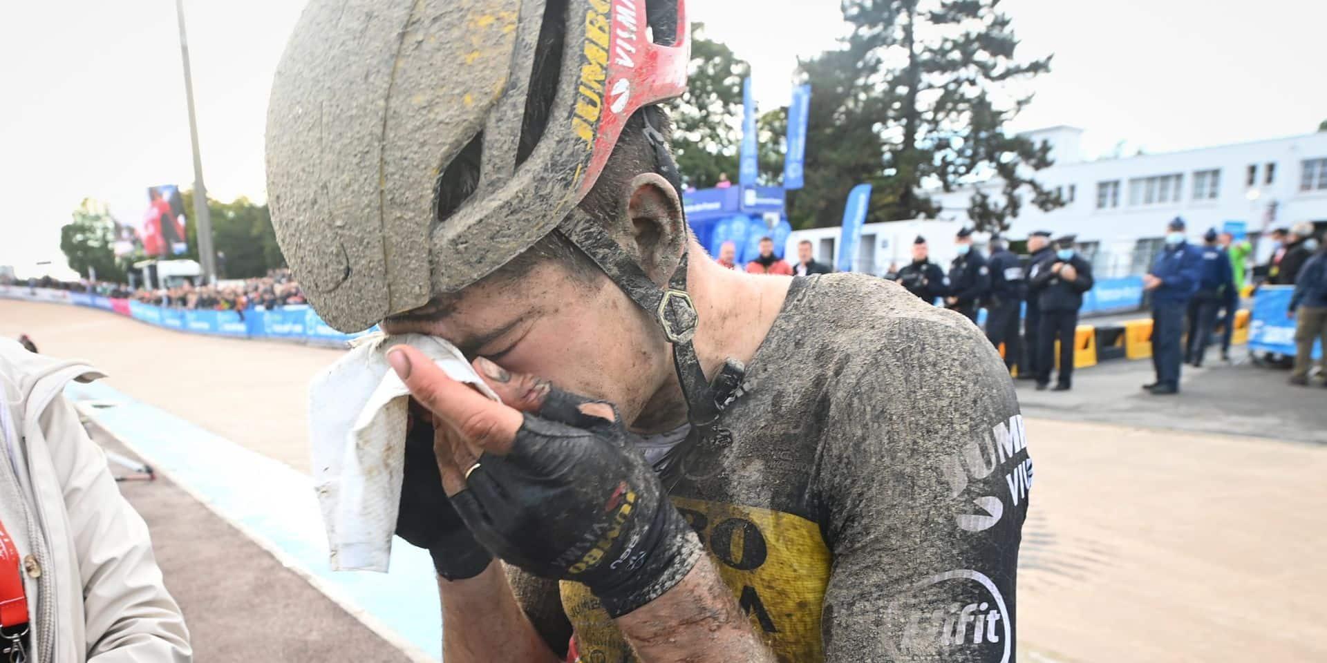 "Paris-Roubaix : Wout van Aert confesse ""une grosse erreur"""