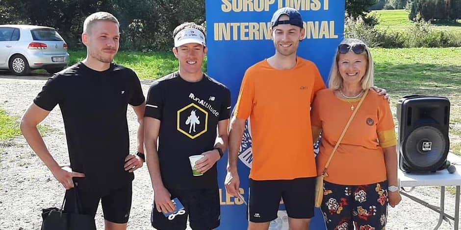 Gembloux: première réussie pour le jogging des 2 Sources