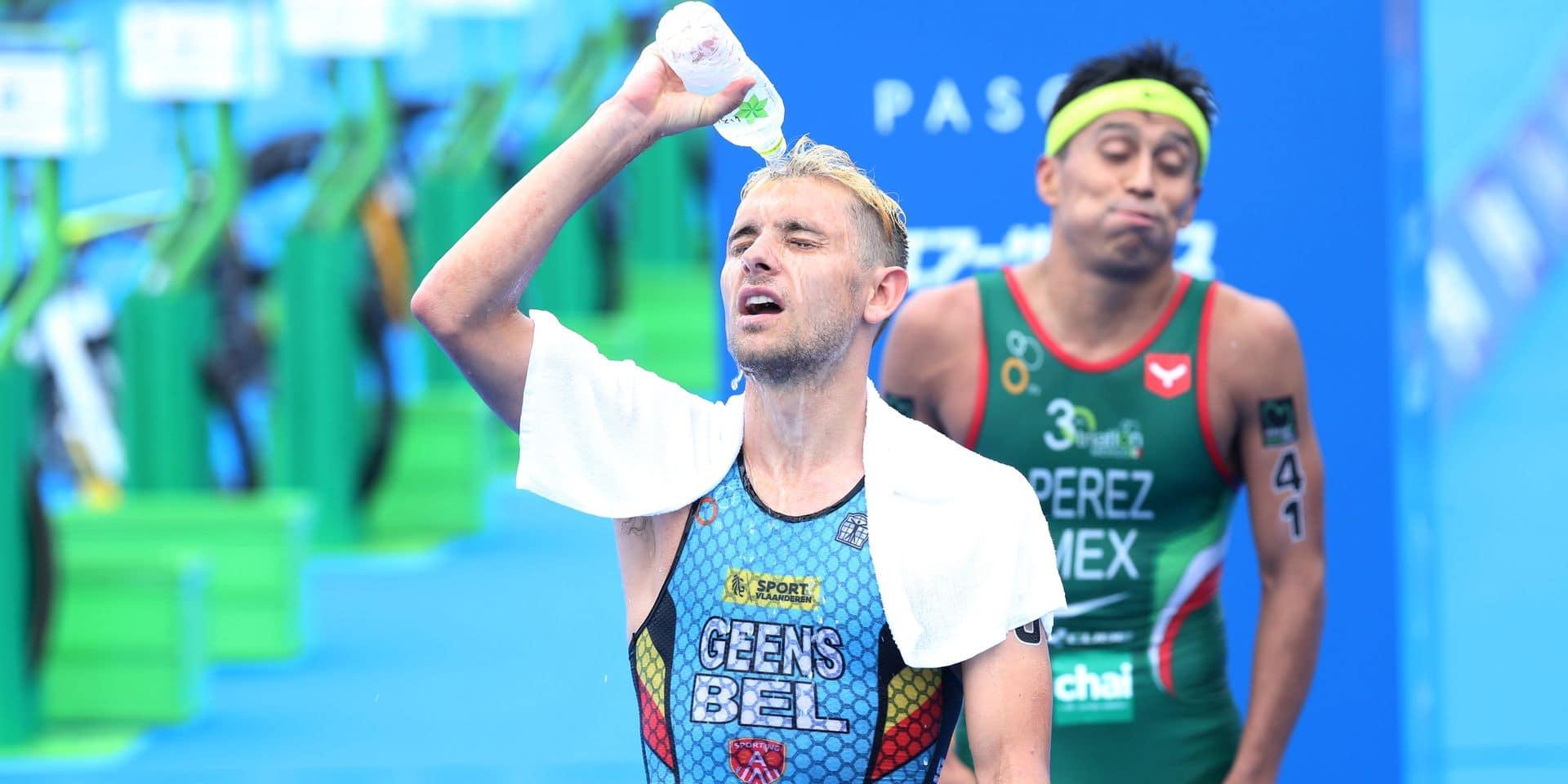 Triathlon : Van Riel a chuté, Geens a craqué, lors du test-event à Tokyo !
