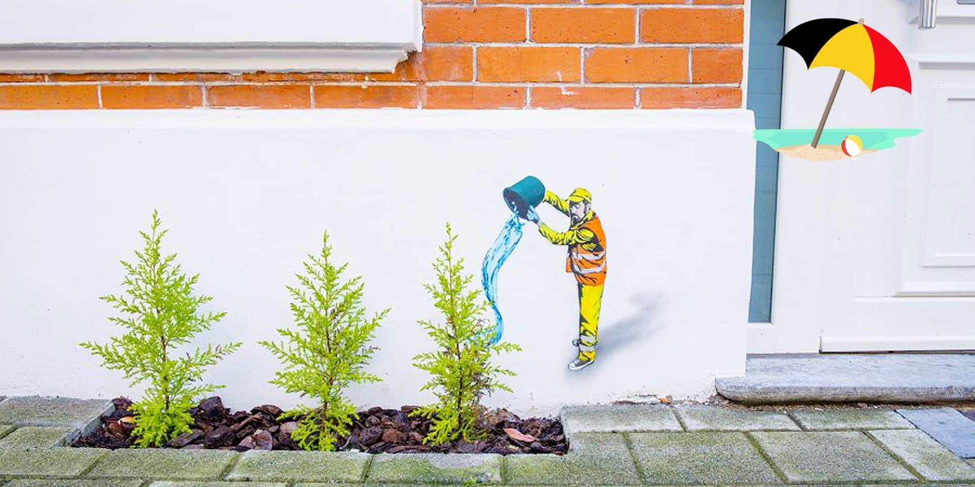 Notre série de l'été des lieux à visiter en famille en Belgique : du street art pour (re)découvrir Ostende ()