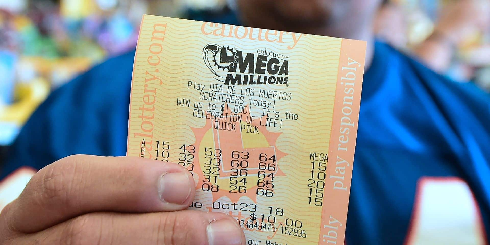 USA: les numéros gagnants du jackpot historique à 1,6 milliard de dollars sont connus