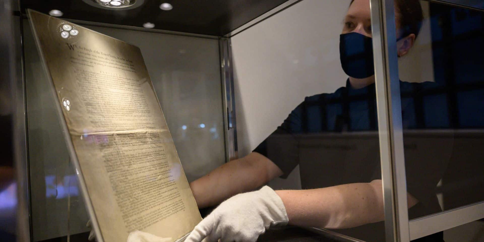 """""""L'un des documents historiques les plus rares"""" bientôt mis aux enchères à New York"""