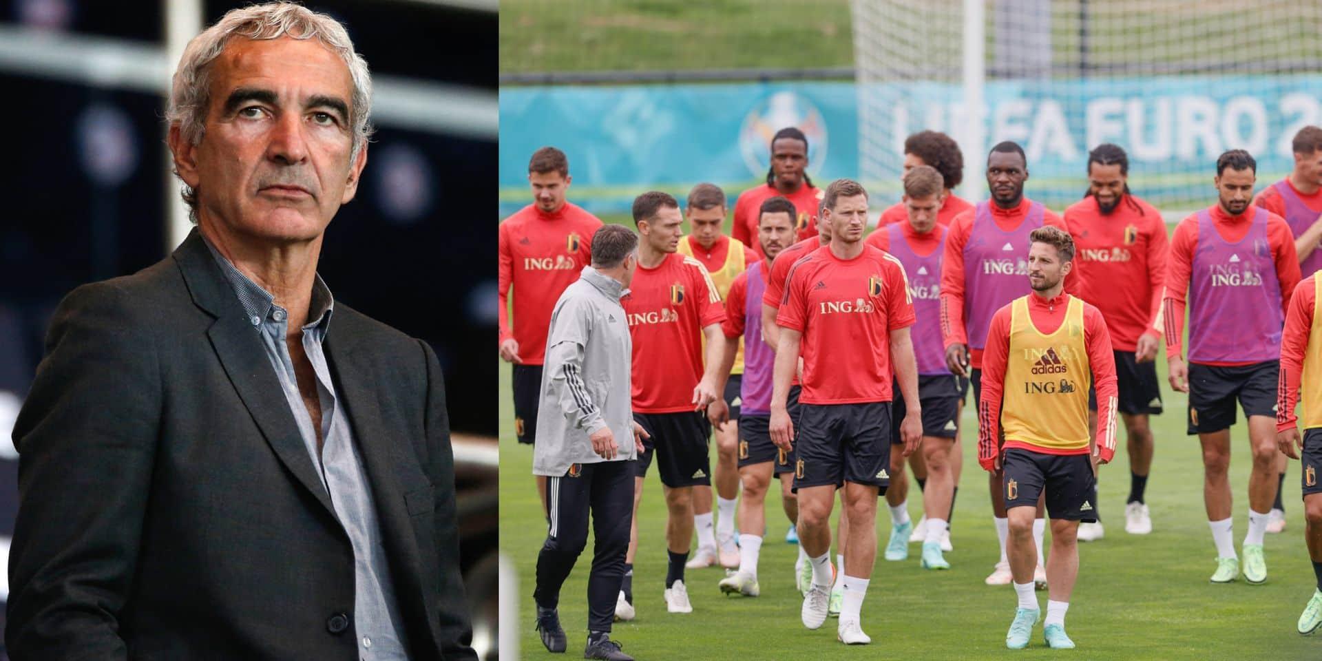 """""""Soi-disant l'équipe la plus intéressante de l'Euro..."""" : l'ex-coach de la France Raymond Domenech tacle les Diables"""