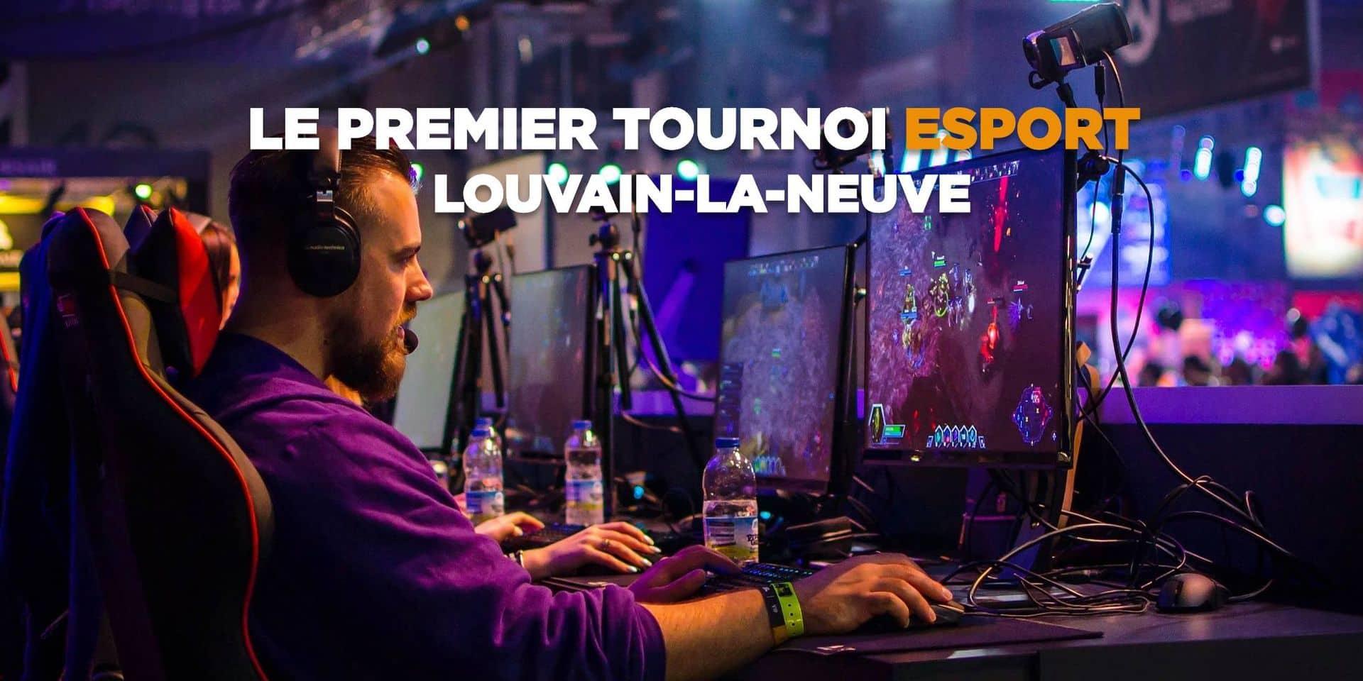 Un tournoi esport d'envergure à Louvain-la-Neuve