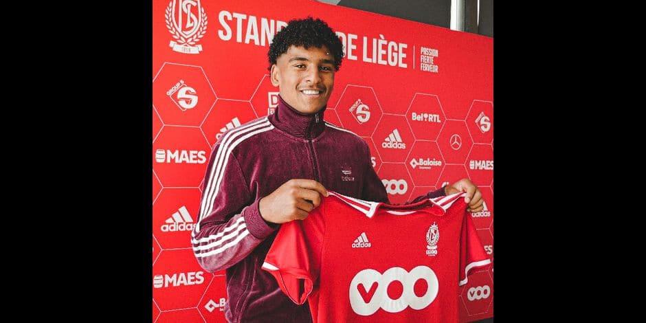 Camil Mmaee signe un premier contrat pro avec le Standard