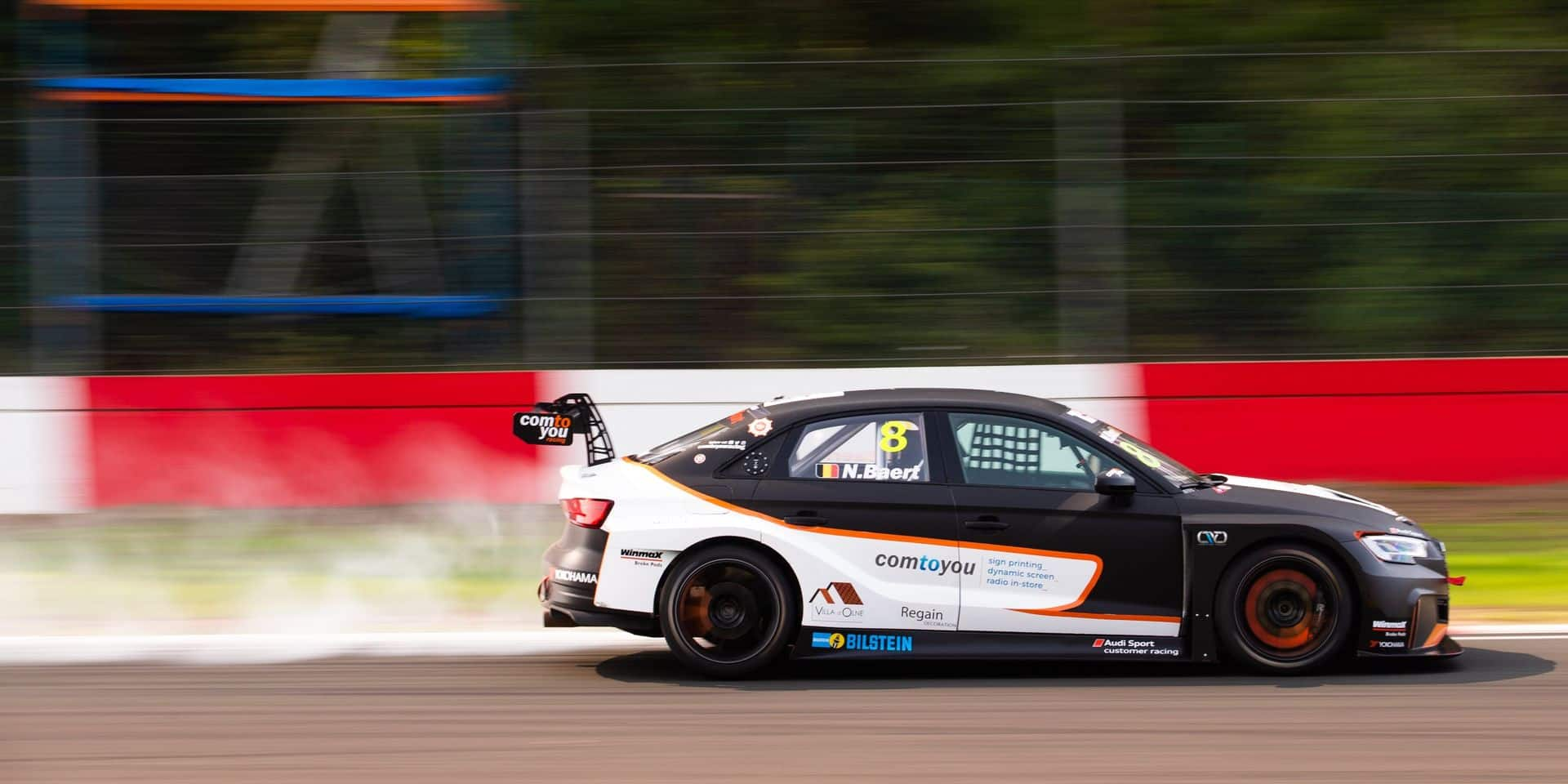 TCR Europe: Brabançonne à Zolder grâce à Nicolas Baert et Comtoyou Racing !