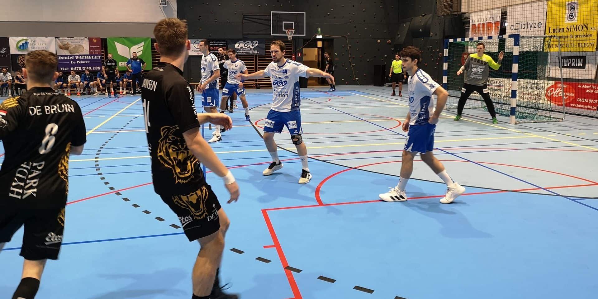 Handball: Visé a été mené de bout en bout par Aalsmeer (24-31)