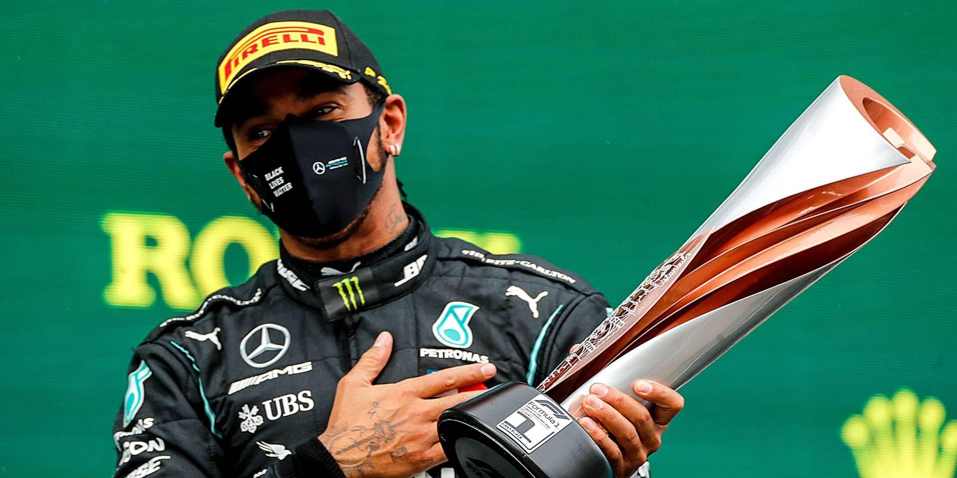 """Hamilton: """"Égaler les sept titres de Schumacher est au-delà de mes rêves"""""""