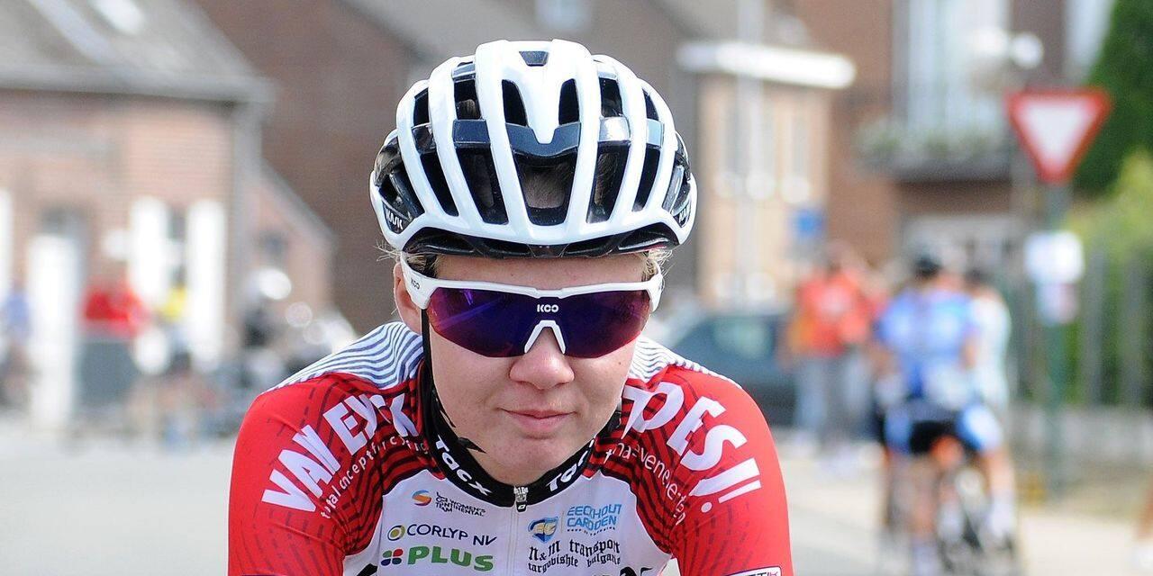 """Justine Vromanne chez Bingoal-WB Ladies: """"Cela fait plaisir de voir le vélo féminin grandir"""""""