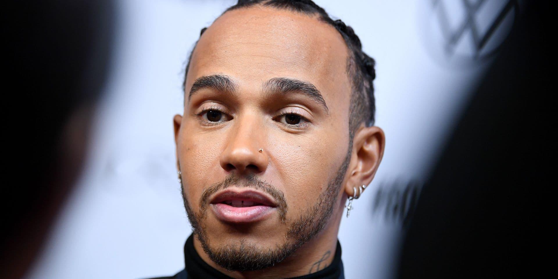F1: La FIA pourrait ouvrir une enquête sur Lewis Hamilton pour un message anti-raciste